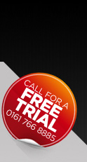 Call Us For a Free Trial on 0161 766 8885